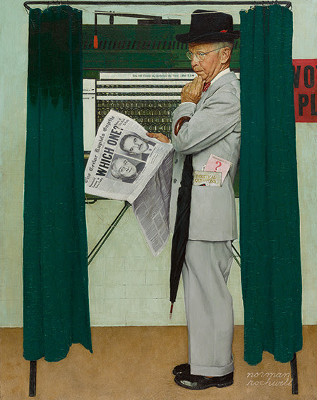 normon-rockwell-at-the-polls